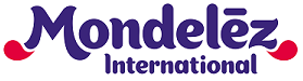 Image of Mondelez International logo.