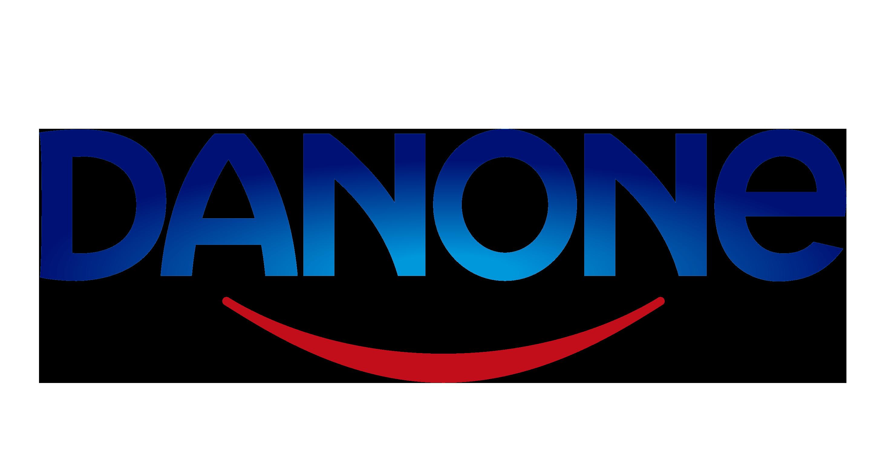 Image of Danone logo.